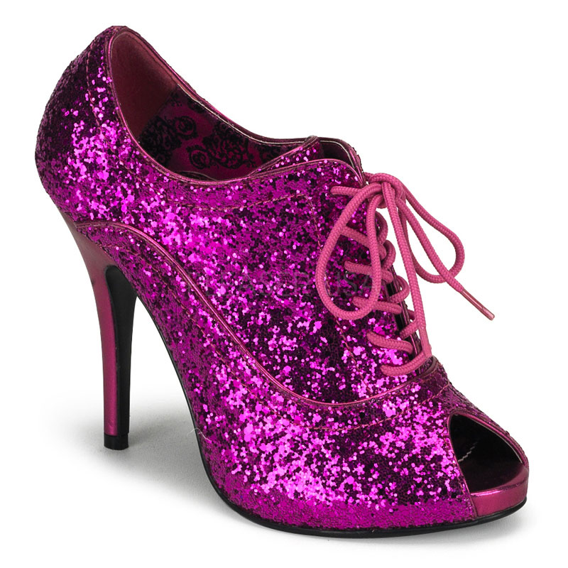 Costume Ladies Glitter Shoes - TheVikingStore.co.uk 307173a02